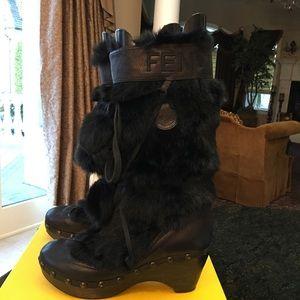 Fendi Shoes - Fendi snow boots