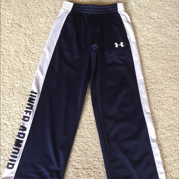 Boys Under Armour Brawler Pants. M 57feb829713fde7583062c9c 689716b62940