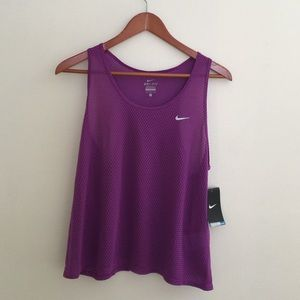 Nike Dri-Fit Purple Work Out Top