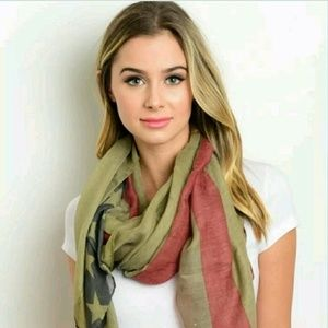 unbranded Accessories - New Fashion Scarf in Olive Green