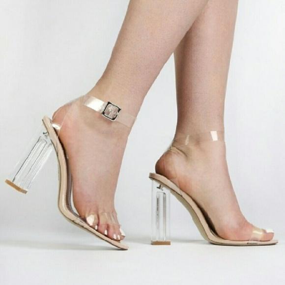 5ea410fba73 Cape Robbin Shoes - Clear heels