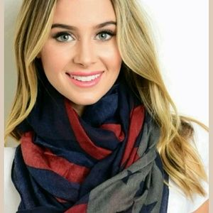 unbranded Accessories - New Fashion Patriotic Scarf