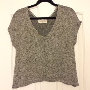 Project social tee from Urban Outfitters grey top