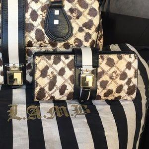 L.A.M.B. Gwen stefani leopard wallet