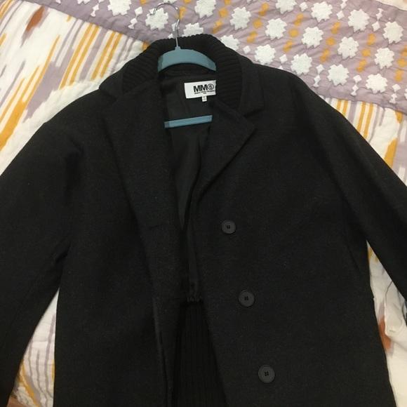wholesale dealer f34bc 0436a MM6 Maison Martin Margiela Black Jacket - Sz 6