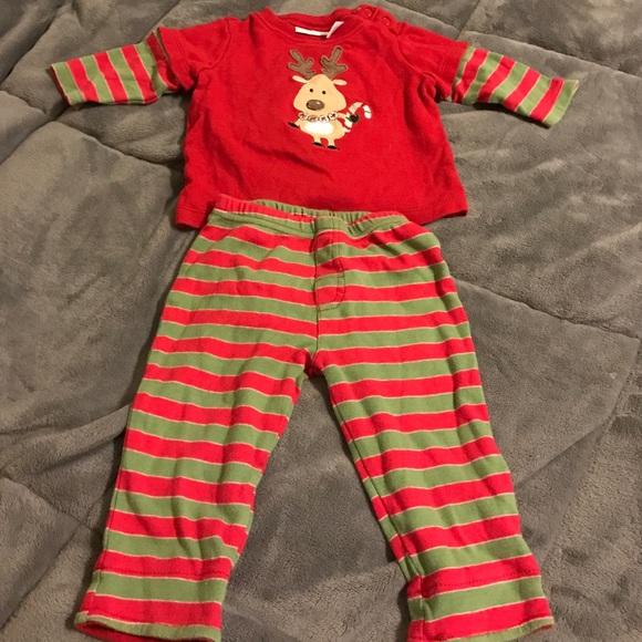 boys christmas pajamas 6 9 months