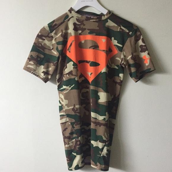 6bd6923c Under armour small camo superman shirt. M_57fed8d5fbf6f9a9aa0000c8