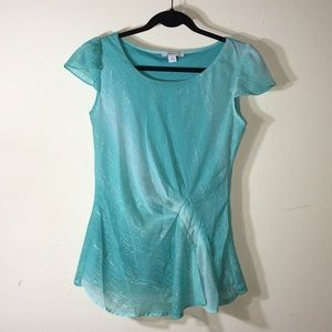 NWOT Dress Barn blue top
