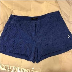 Lace detailed Jessica Simpson shorts