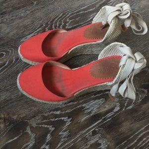 J. Crew wedge sandal