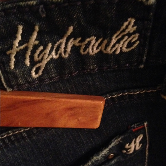 Hydraulics denim shorts