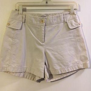 Ann Taylor chino shorts