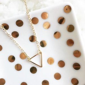 WILA Jewelry - LAST ONE! Triangle Necklace
