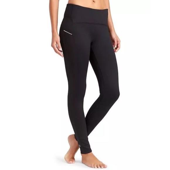 569aa23567b0ad Athleta Pants   Power Lift Fleece Lined Tight Leggings   Poshmark