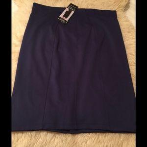 Pencil Skirt - Color Saphire