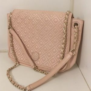 Tory burch Marion quilted satchel