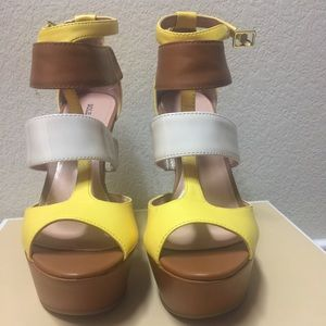 Sole Society Nordstrom's wedges NWOT, sz 6.5