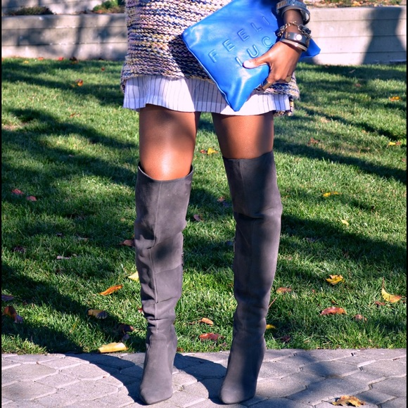 849a53c2b51 Vince Camuto Hollie Suede Over The Knee Boots. M 57fef348f739bc3f98003cc4