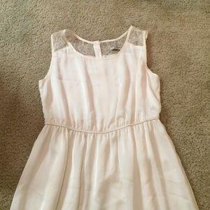 Romy Dresses & Skirts - ROMY ivory lace detail dress