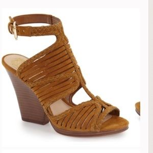 Vince Camuto Fall Suede Wedges LOW BALL ME!!!