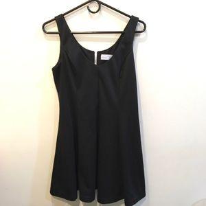 Amanda Uprichard Dresses & Skirts - Amanda Uprichard Black Pleated Skater Dress