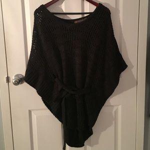 Sweaters - Knit poncho