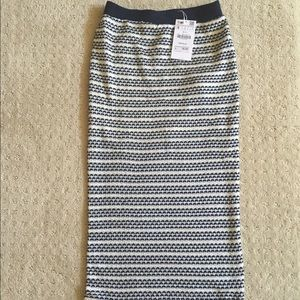 New with tags Zara knit pencil skirt