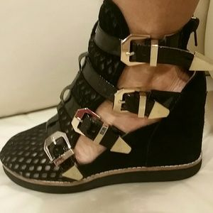 Jeffrey Campbell Shoes - Jeffrey Campbell Caged Wedges