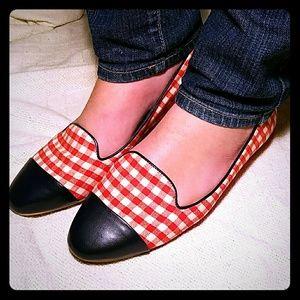 Johnston & Murphy Shoes - Johnston & Murphy Gingham Flats