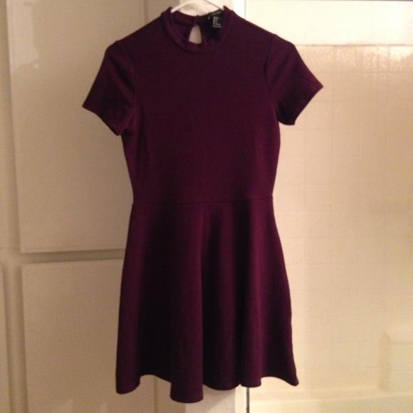 Forever 21 Dresses   Skirts - Dark Purple Forever 21 Mid Turtle Neck Dress e19906881
