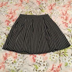 JOE B  Dresses & Skirts - Gray Patterned Skirt