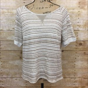 Old Navy Tops - French Terry Striped Shirt