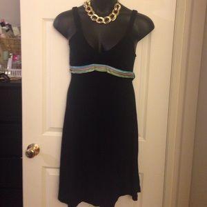 Free people black dress sz small