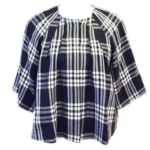 Larry Levine Jackets & Blazers - Larry Levine plaid coat