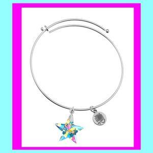 NWT- HP Aurora Borealis Swarovski Charm Bracelet