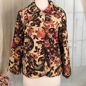 ALT Studio Floral Print Short Jacket