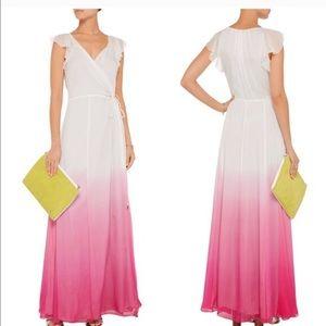 Diane von Furstenberg Dresses & Skirts - DVF Delancey Pink Ombré Dress