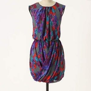 Tibi Watercolor Folds dress *rare*