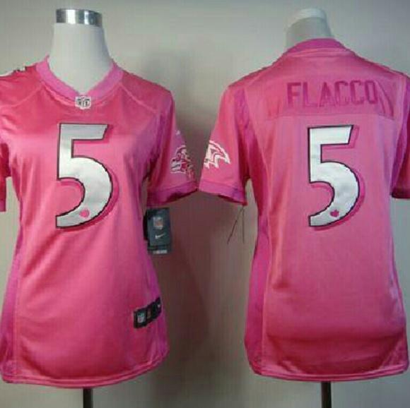 Baltimore Ravens Pink Jersey