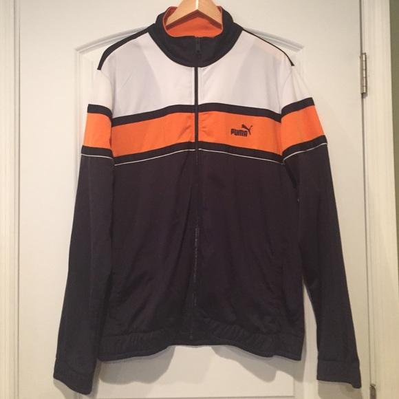 578910 04 Mens Puma 90s Retro Woven Jacket Activewear Men
