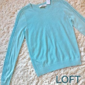 Ann Taylor LOFT | New Blue Sweater Size XS / S