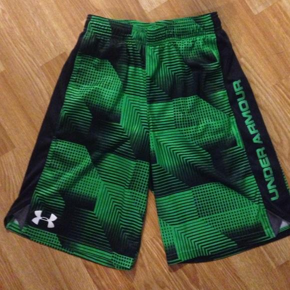 boys under armour shorts on sale