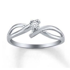 Kay Jewelers Jewelry - Solitaire Diamond Ring