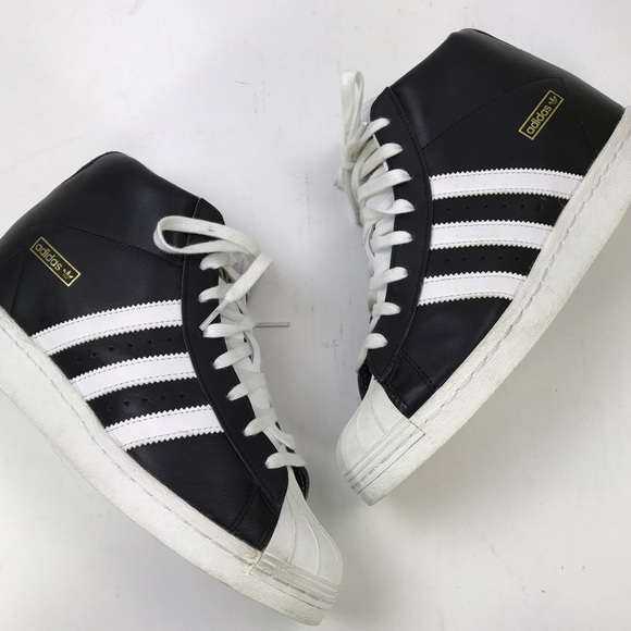 a3372705eaa Adidas Shoes -  adidas  Superstar Up Wedge Sneakers Original 8.5