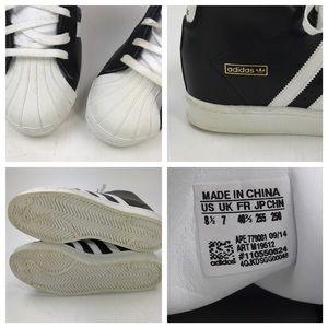 [adidas] Superstar Up Wedge Sneakers Original 8.5