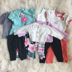 Carter's Other - Baby Girl Clothes NB, 3M, 6M