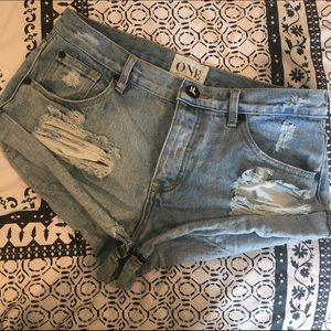 One Teaspoon Bandit shorts (size 28)