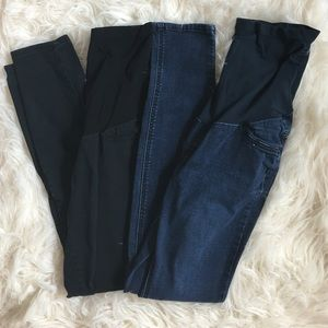 Motherhood Maternity Denim - Set of two Maternity Pants