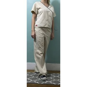 Other - Women's Tan Scrub Set By Dickies size small