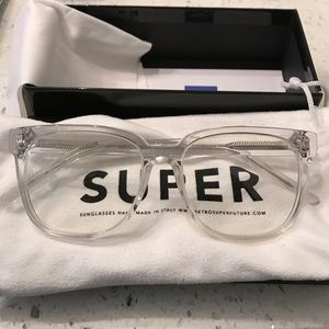 RetroSuperFuture Accessories - Super RETROSUPERFUTURE PEOPLE CRYSTAL glasses